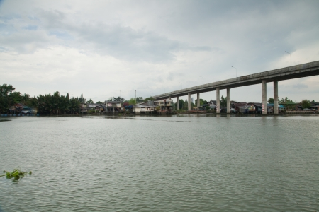 thailand s landmarks: Bridge across the river X