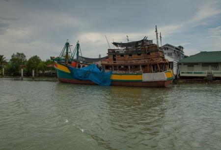 Restaurant on boat III photo