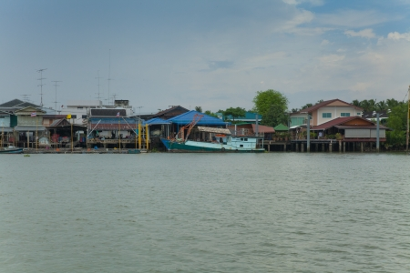 Fishing Village,Thailand V photo