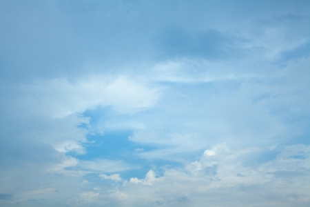 Sky and clouds,blue II