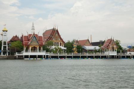 temple the sea,Thailand photo