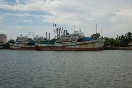 Fishing boat in Thailand X photo