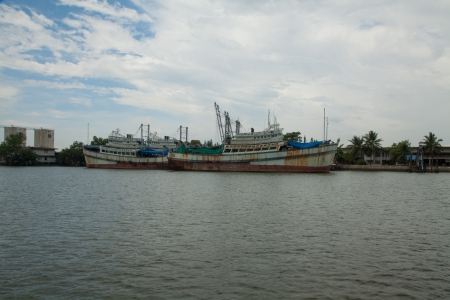 Fishing boat in Thailand VIII photo