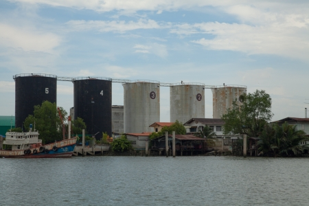 Oil factory,Thailand III photo