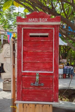 Antique Letterbox,Thailand III Stock Photo