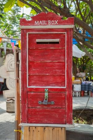 Antique Letterbox,Thailand IV photo