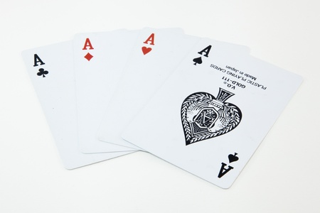 Cards Set of A I photo