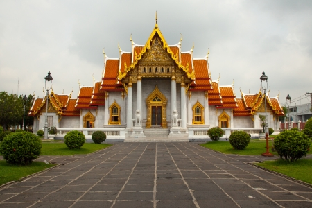 The Marble Temple  Wat Benchamabophit  photo