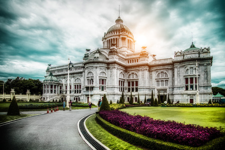 Ananta Samakhom Throne Hall III Stock Photo