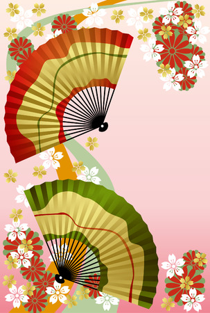 Japanese fan Stock Vector - 6657103