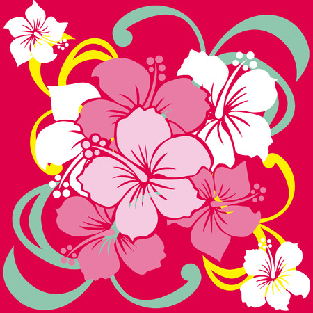 summer break: Hibiscus
