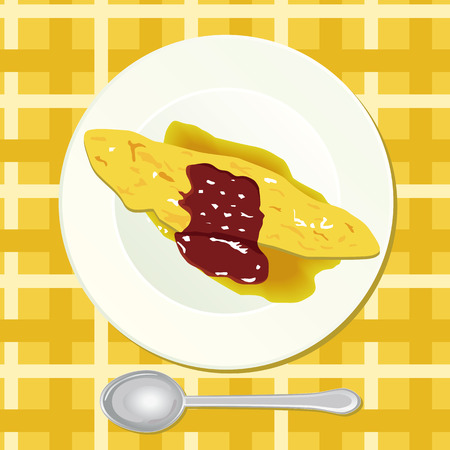 scrambled: Omelet