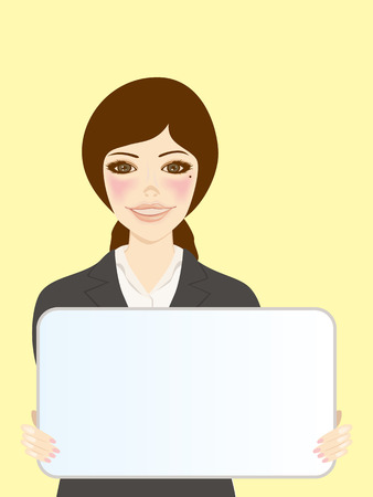 WHITEBOARD AND WOMEN Vector