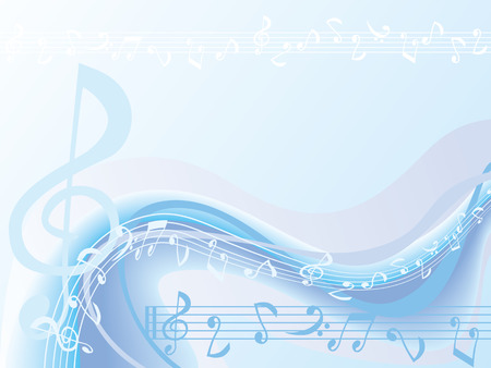 Background Music Stock Vector - 6769414