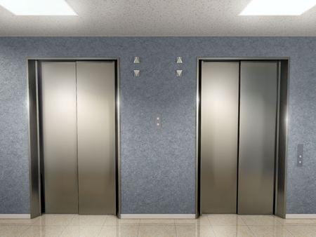 Elevator Lobby 写真素材