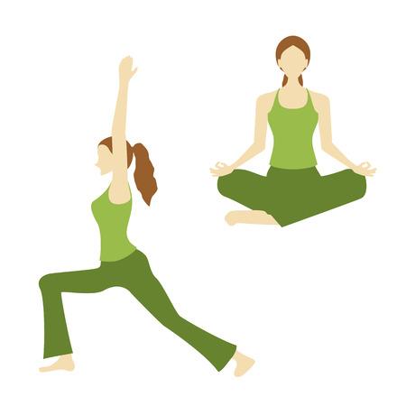 stretch: yoga