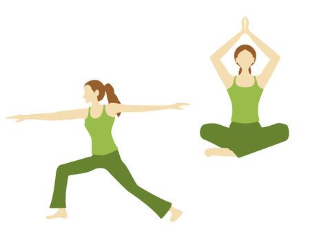 yoga Stock Vector - 6769444