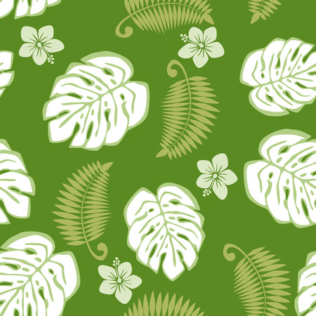 monstera: background Illustration