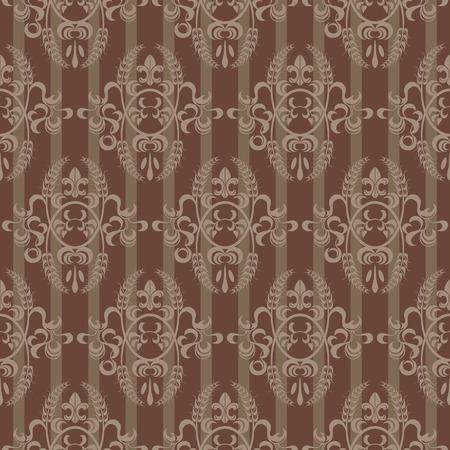 victorian wallpaper: seamless pattern