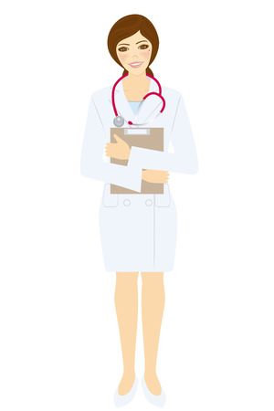 Women doctor  Vector