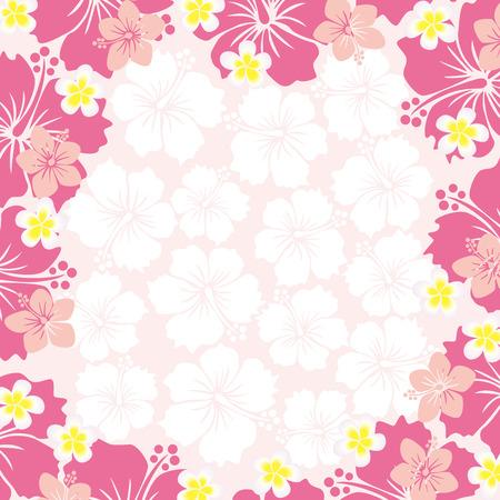 hawaiana: Hibiscus Frame