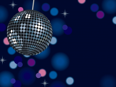 eighties: Background Mirror Ball