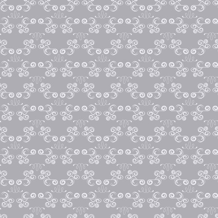 Abstract seamless silver pattern Stock Vector - 7040562