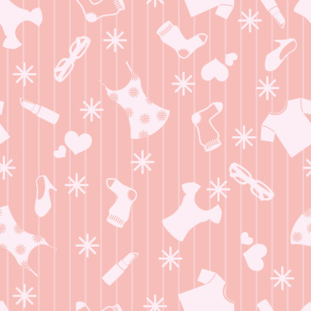 Girly Background Vector
