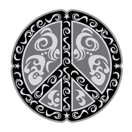 simbolo de la paz: PAZ MARCA