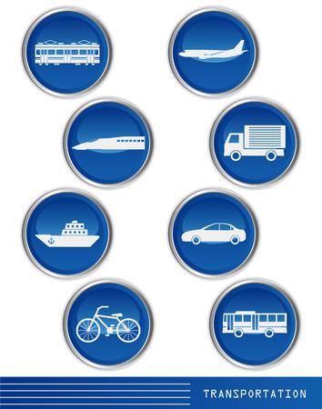 transportation icon: Transportation icon Illustration