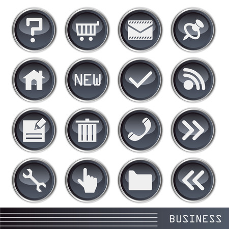 Business icon Stock Vector - 7150075