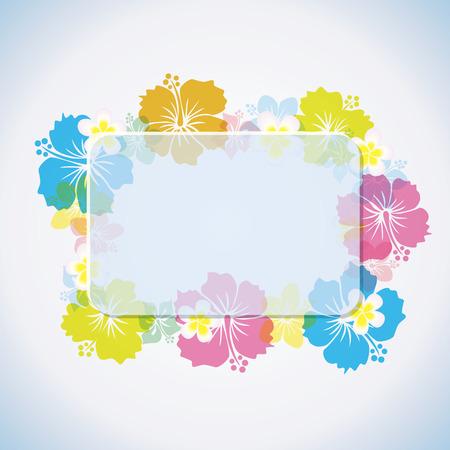 Abstract tropical frame Vector