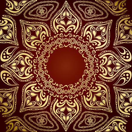 Mandala Pattern Stock Vector - 7297174