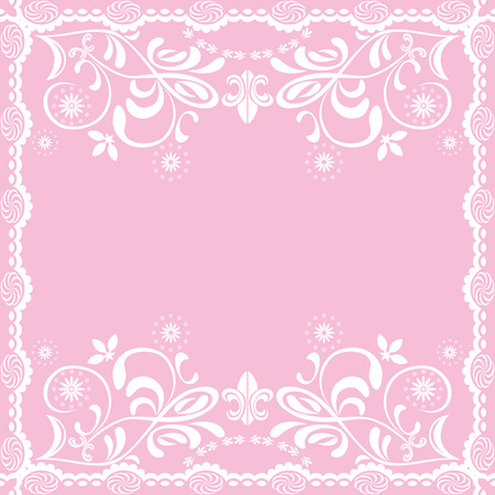 Abstract pink feminine background Vector