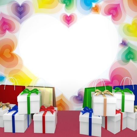 Abstract decoration gift image photo