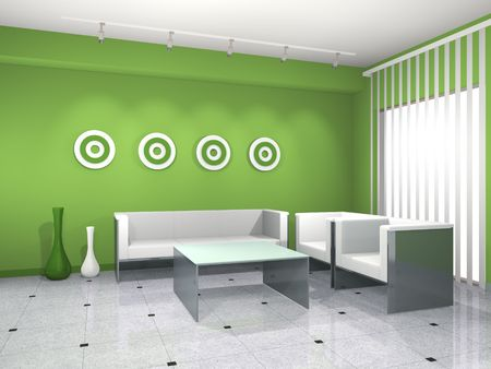 Green interior Stock Photo - 7439604