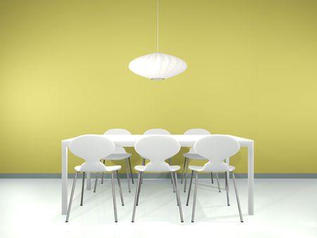 Dinning interior Stock Photo - 7439609