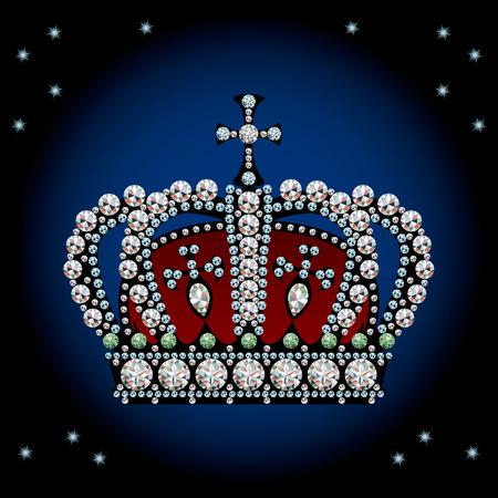王冠の装飾