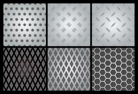 pavimento lucido: Imposta texture metallo 6.