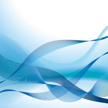 Azul de línea de fondo