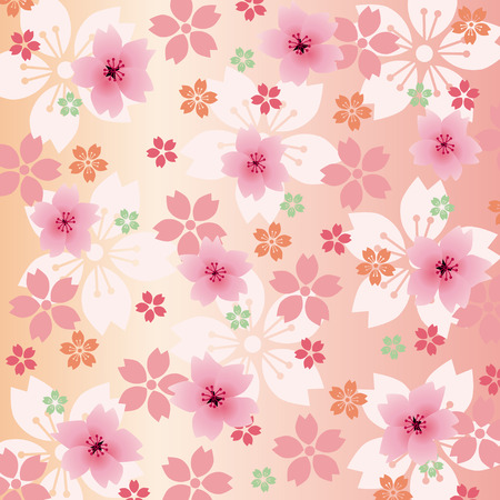 Background Blossoms  Vector
