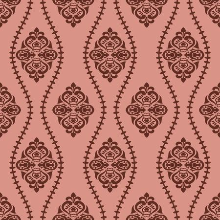 Abstract seamless retro pattern. Illustration