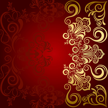 Abstract Floral Luxury Background Vector