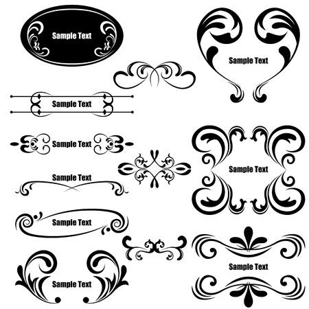 Design Elements Set. Illustration