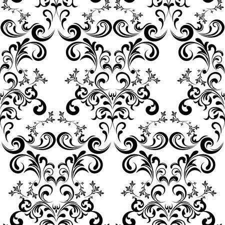 linen texture: Patr�n Floral sin problemas. Ilustraci�n