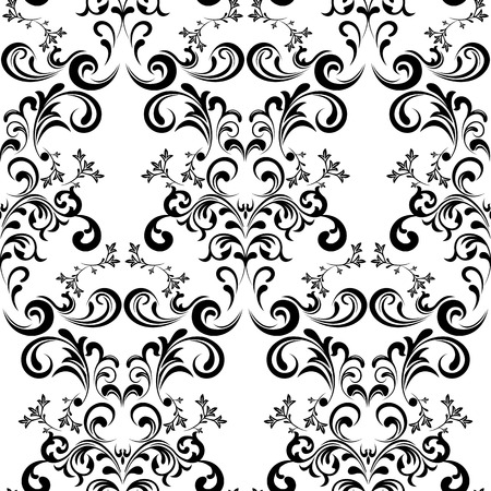 Seamless Floral Pattern. Illustration   Stock Vector - 8716694