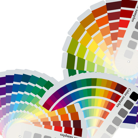 Kleur grafieken achtergrond  Vector Illustratie