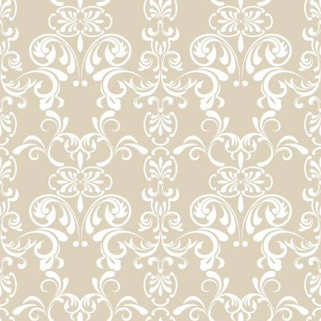Naadloze Floral patroon