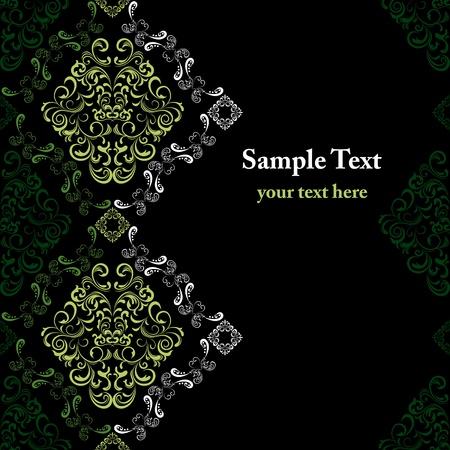 Abstract seamless stylish pattern. Illustration vector  向量圖像