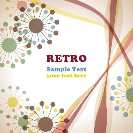 retro: Retro frame. Illustration vector Illustration